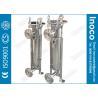 China BOCIN Water Oil Single Bag Filter Housing Pn 1.0mpa / 1.6mpa Swing Bolts wholesale