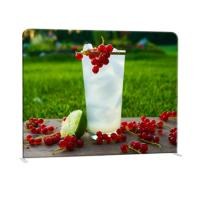 China Straight Curved Trade Show Backdrop Displays U Shape Pop Up Stand Easy Operation wholesale