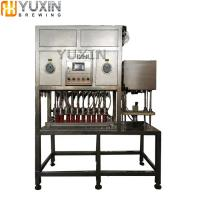China Semi-auto/Automatic Can Beer Canning Machine with filling and sealing wholesale