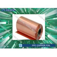 China Double Shiny  RA Copper Foil For FPC ,Roll Size  Maximum Width 650 wholesale