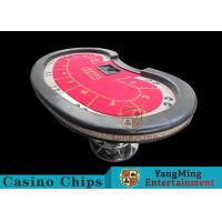 China Professional Casino Game Table With 50mm High Elasticity Sponge Foreskin wholesale