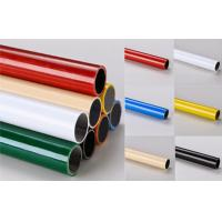 China Multi color  ESD Black  Lean Pipe PE Coated 0.8MM / 1.0MM / 1.2MM Thickness Pipe wholesale