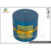 Buy cheap Round Candle Packaging Paper Tube Hot Stamping Surface Finishing Cylinder Box from wholesalers