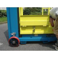 Quality 4.3m Semi - Electric Aerial Order Picker For Supermarket Stock Picking for sale