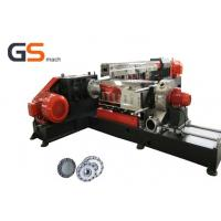 China PVC LOSF Filler Masterbatch Plastic Extruder Machine Single with twin screw wholesale