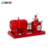 China High Speed End Suction Fire Pump Set With Eaton Controller Jockey Pump -E01 on sale