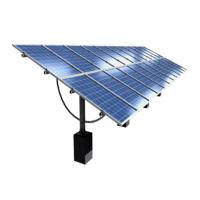 Seasonal Solar Ground Mount Systems , Arc Tilt Angle Cell Structure Adjustable Solar Panel Mount