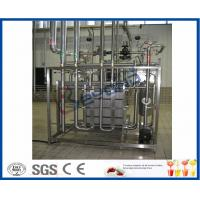 China UHT Plate Type Dairy Pasteurization Equipment / Htst Pasteurization Equipment wholesale