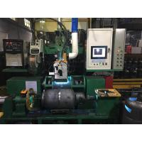 China Gas Bottle Welding Cnc Spinning Lathe Machine For Natural Gas Pressure Vessel Making wholesale