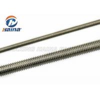 China M10 DIN 975 DIN976 Stainless Steel Full Threaded Rod 1000mm Length wholesale