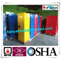China Grounding Hazardous Material Storage Cabinets For Combustible Liquid wholesale