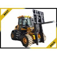 China 4 Tons All Terrain Fork Lift Trucks Strong Power Wide - View Unique Overhead Guard Design wholesale