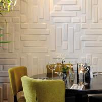 China Hotel Interior 3D Decorative Wall Panels wholesale