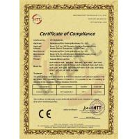Guangdong Rich Packing Machinery Co., Ltd Certifications