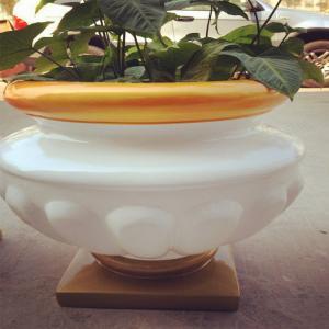 2015 hot sale waterproof cheapest flower pot W0042
