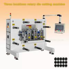 China Adhesive Waterproof Sticker Label Rotary Die Cutter Machine 50 M/Min 3500KG wholesale