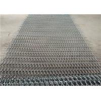 China Heat Resistance Stainless Steel Wire Mesh Conveyor Belt With Chain wholesale