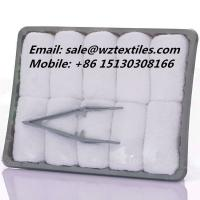 Buy cheap 13g Cotton towel airline towel hot towels from wholesalers
