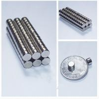 China Custom Permanent Strong Disk NdFeb Magnet , N35 / N52 Sintered Neodymium Magnets on sale