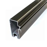 Quality High Precise Reliable Aluminum Curtain Wall Profile In Different Surface Treatment for sale