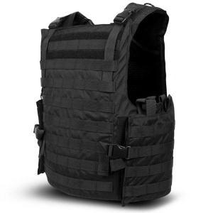 China 6.5kg Side Opening Military Grade Bulletproof Vest With Foam - Padded Shoulder Straps on sale