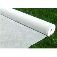 China Tear Resistant PP Spunbond Nonwoven Fabric / Vegetable Garden Weed Control Fabric wholesale