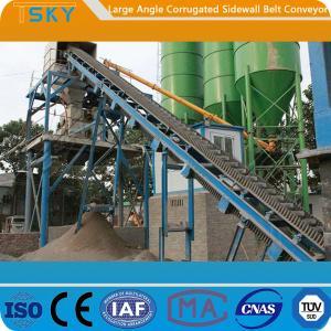 China Large Angle B1400 Corrugated Sidewall Belt Conveyor wholesale
