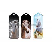 Quality Customized Special Shape 3D Lenticular Bookmark Flip Changing Effect Image for sale
