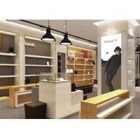 Quality Wooden Plus Veneer Shoe Display Fixtures Design With Dis - Assembly Structures for sale