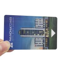 China 13.56MHZ Mifare 1K/4K Door Locks RFID Hotel Key Cards Customized PVC Material wholesale