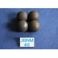 Quality Cement Plants Grinding Steel Balls Ball B2 D40mm , Grinding Balls for Mining 63-64hrc for sale