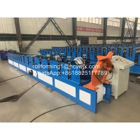 China Roof Gutter Roll Forming Machine With 18 Rows of Rollers wholesale