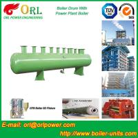 China Diesel Water Heat Boiler Steam Drum Thermal Insulation SGS Certification wholesale
