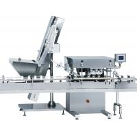 Buy cheap SS Frame Tablet Counting And Filling Machine Glass / PET Bottle Automatic Bottle Capping Machine from wholesalers