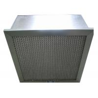 China Disposable Hospital Hepa Room Air Filters , Pharmacy Deep Pleat Hepa Filter wholesale