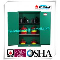 China Fireproof 45 Gallon Hazardous Storage Cabinets Adjustable Shelf For Storing Dangerous Goods wholesale