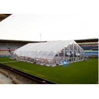 China Permanent External Aluminum Frame Tent 850 G / Sqm Roof With PVC Cover wholesale