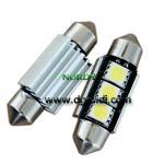 China Led Festoon canbus light 3pcs 5050 SMD Auto led canbus 3W 39mm bulb wholesale