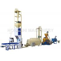 China Poultry Farming / Fish Food Making Machine , Animal Pellet Machine High Durability on sale