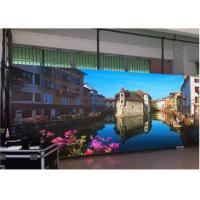 China RGB Indoor LED Display Module Pixel Pitch 6mm Drive Duty Cycle 1/16 Scan Drive SMD3528 wholesale