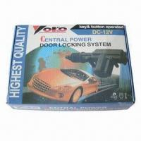 China YOKO White Head Car Central Locking with Ultrasonic Soldering and Water-/Dust-resistant wholesale