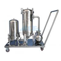 China Ss304/Ss316 Cartridge Filter Housing And Bag Filter Housing Bag Filter With Reusable Bags Housing wholesale