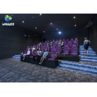 China 3 DOF Movement Mini Film 5D Cinema Simulator Indoor Games / 5D Amusement Park wholesale
