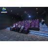 Buy cheap 3 DOF Movement Mini Film 5D Cinema Simulator Indoor Games / 5D Amusement Park from wholesalers