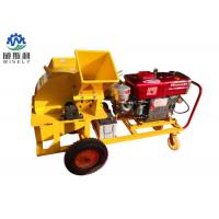 China Electric Start Small Wood Grinder Machine , High Power Residential Wood Chippers wholesale