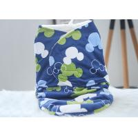 30*40 Anti - Choking Baby Swaddle Blankets For Picnic / Airplane