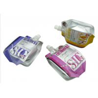 China Lightweight Laundry Liquid Pouch With Spout For Packaging , 8.6mm / 9.6mm Dia wholesale