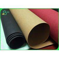 China Moisture Proof Multicolor Washable Recycled Kraft Paper Roll For Plan Bag wholesale