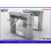 China ID / IC Access Control Tripod Turnstile Gate , Standard Automatic Systems Turnstiles wholesale