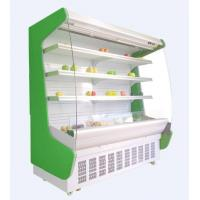 Buy cheap Fruit vegetable open display showcase for supermarket with wheels from wholesalers